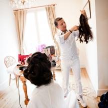 photo reportage mariage préparatifs Château Lafitte Bordeaux