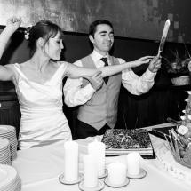 photo soirée de mariage photographie sur le vif pièce montée