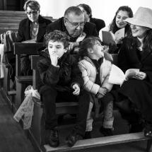 photographe mariage cérémonie hiver Crest-Voland
