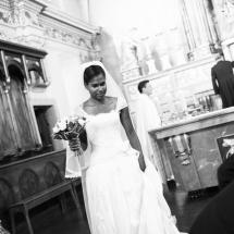 photographe mariage Chamonix église Audrey