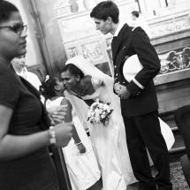 photographe mariage Chamonix fin de cérémonie