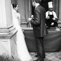 photographe mariage Lyon vin d'honneur mariés