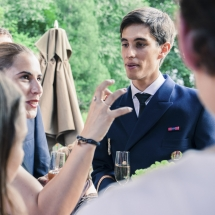 photographe mariage Chamonix cocktail marié