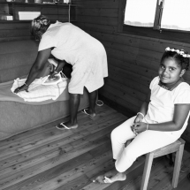 photographe mariage Chamonix nièce de la mariée