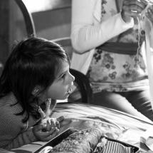 photographe mariage Chamonix retouche de la robe