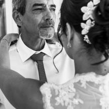 photographe mariage Thiez Cindy et son papa