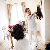 photographe mariage Source de Caudalie coiffure
