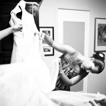 photographe mariage Lyon préparatifs robe
