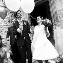 photographe mariage sortie cérémonie Beaujolais