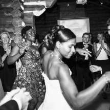 photographe mariage Chamonix bal les mariés
