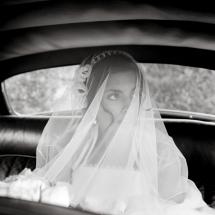 photographe mariage départ de la mariée