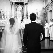 photographe mariage Chamonix cérémonie autel