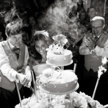 Photographe mariage château Lafitte pièce montée