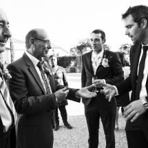 photographe mariage château de Coppet cocktail magicien