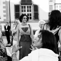 photographe mariage cocktail suisse château de Coppet