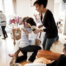 photographe mariage préparatifs champagne