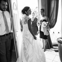 photographe mariage Thiez Cindy départ à la mairie