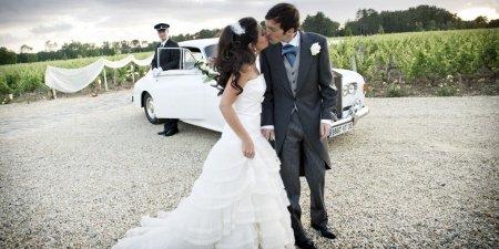 photographe mariage source de Caudalie couple