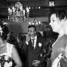 photographe mariage Thiez père de la mariée cérémonie