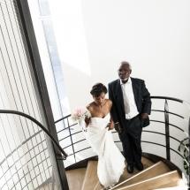 photographe mariage Thonon cérémonie montée de la mairie