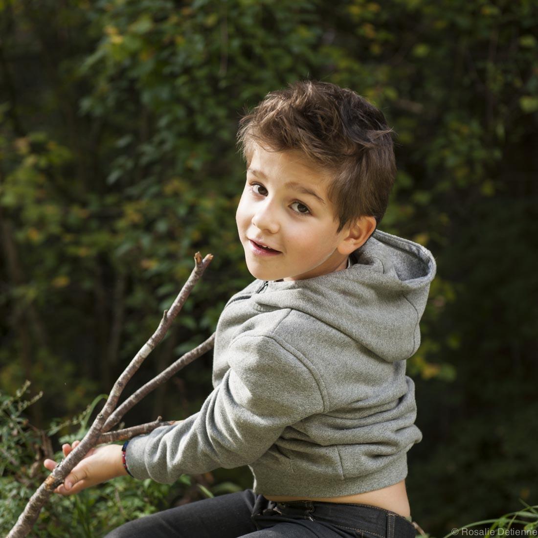 nature photo enfant